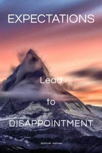 When Expectations Lead to Disappointment